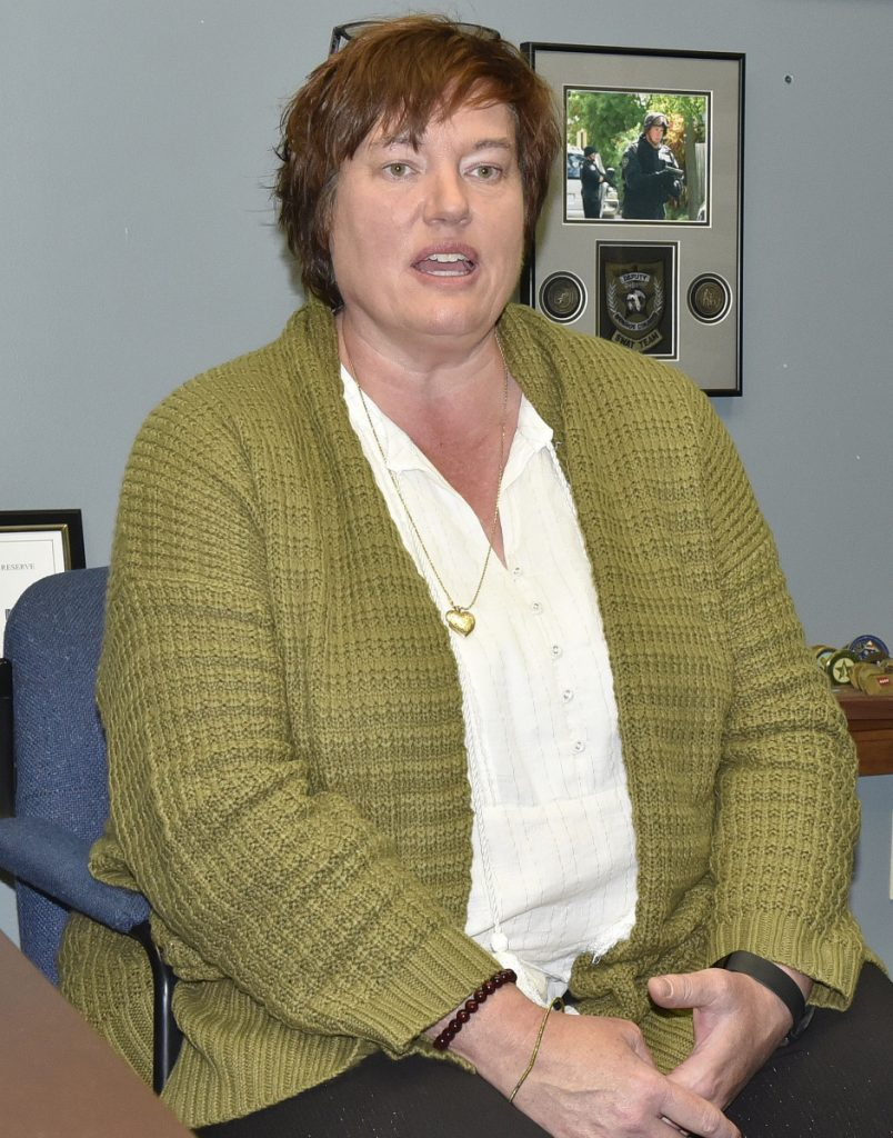 Pastor Jennifer Reed has been named the new female chaplain for the Skowhegan Police department.