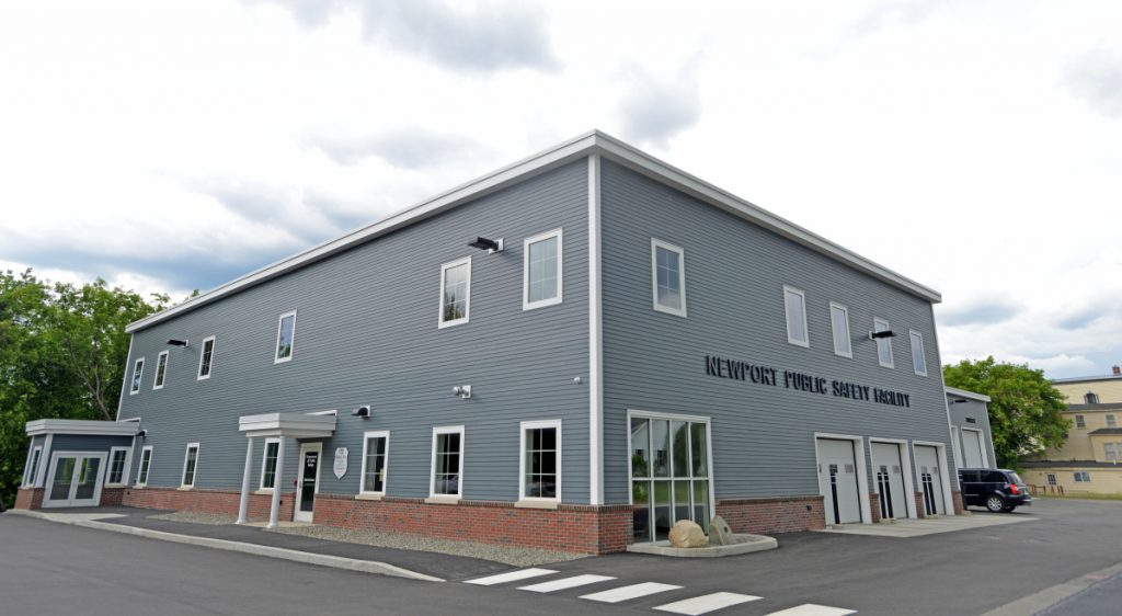 Newport Police Chief Leonard Macdaid said a dozen car burglaries in his town over the weekend may be part of a crime spree from Vermont through to Bangor. Pictured is the Newport Public Safety Building in Newport on Water Street June 2016.