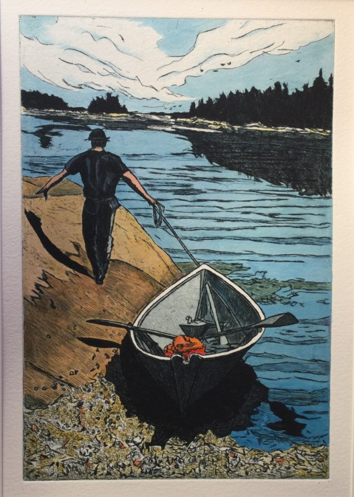 """Escape"" by Michele O'Keefe, of Vinalhaven."