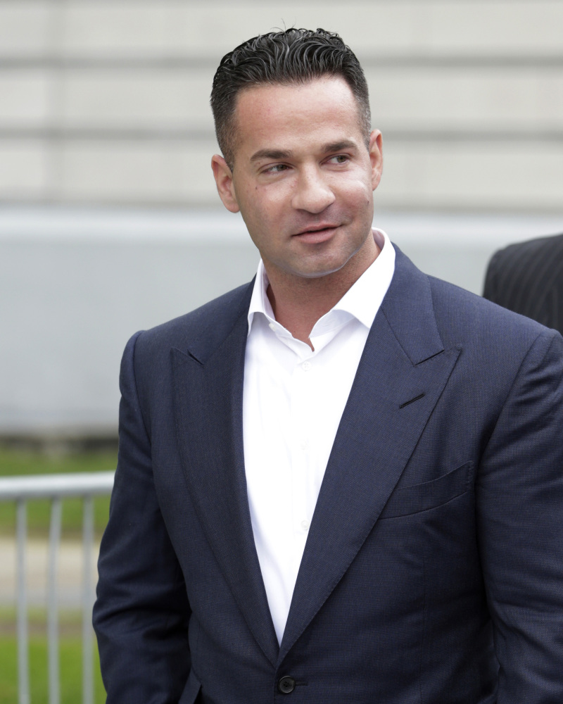 "Former 'Jersey Shore' star Mike ""The Situation"" Sorrentino faces sentencing on tax fraud charges."