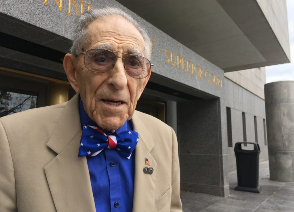 "Morton Katz works as a special public defender and says he has no plans to retire. ""There are frustrations to beat all hell,"" he says, ""but I like what I'm doing."""