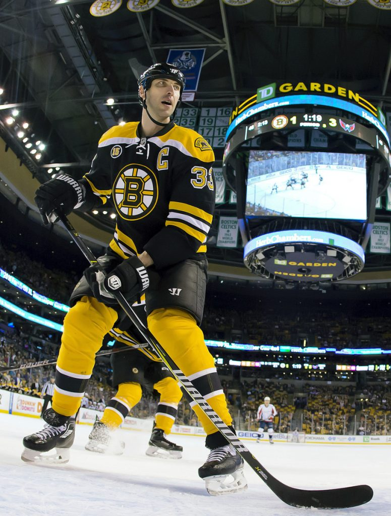Now 42, defenseman Zdeno Chara remains a tower of strength at the blue line, but the Boston Bruins know their leader's career is winding down.