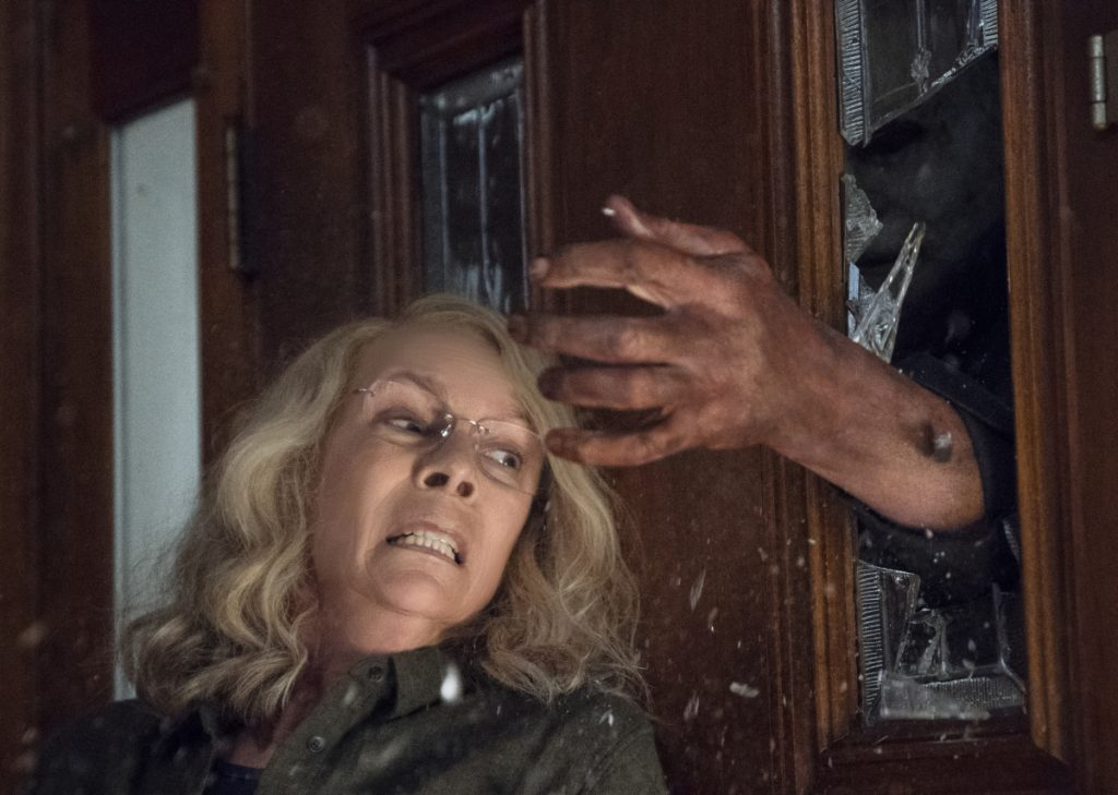 "Jamie Lee Curtis stars in the film ""Halloween, "" which had the second-highest horror opening of all time, behind last year's ""It."""