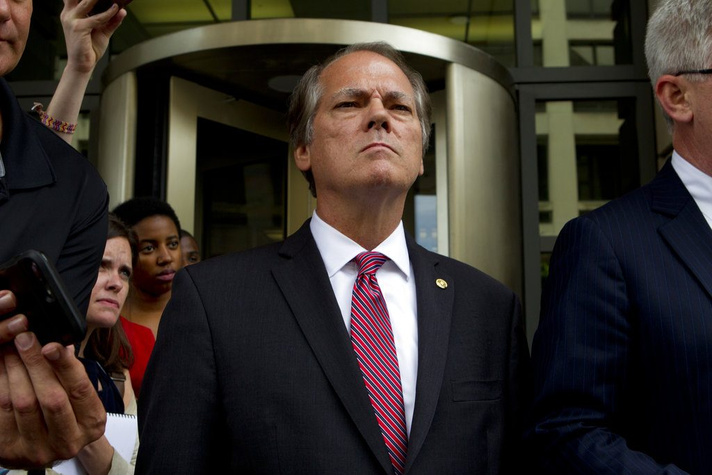 James Wolfe appeared in federal court in Washington on Monday and pleaded guilty to a single charge in the three-count indictment against him.