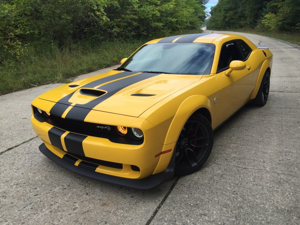 On The Road Review Dodge Challenger Srt Hellcat Widebody