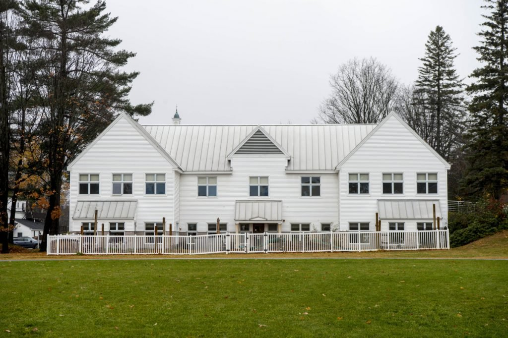 The Sweatt-Winter Childcare & Education Center is one of two buildings at the University of Maine at Farmington that would be renovated if Question 4 on the election ballot passes.