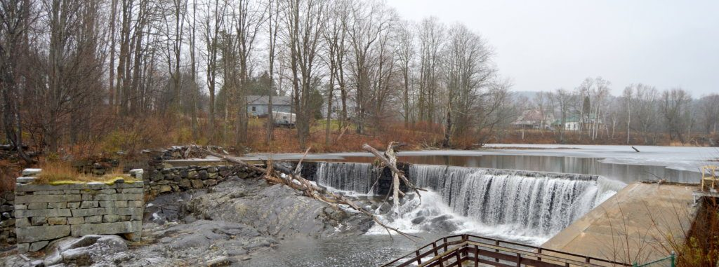 The Walton's Mill Dam in Farmington.