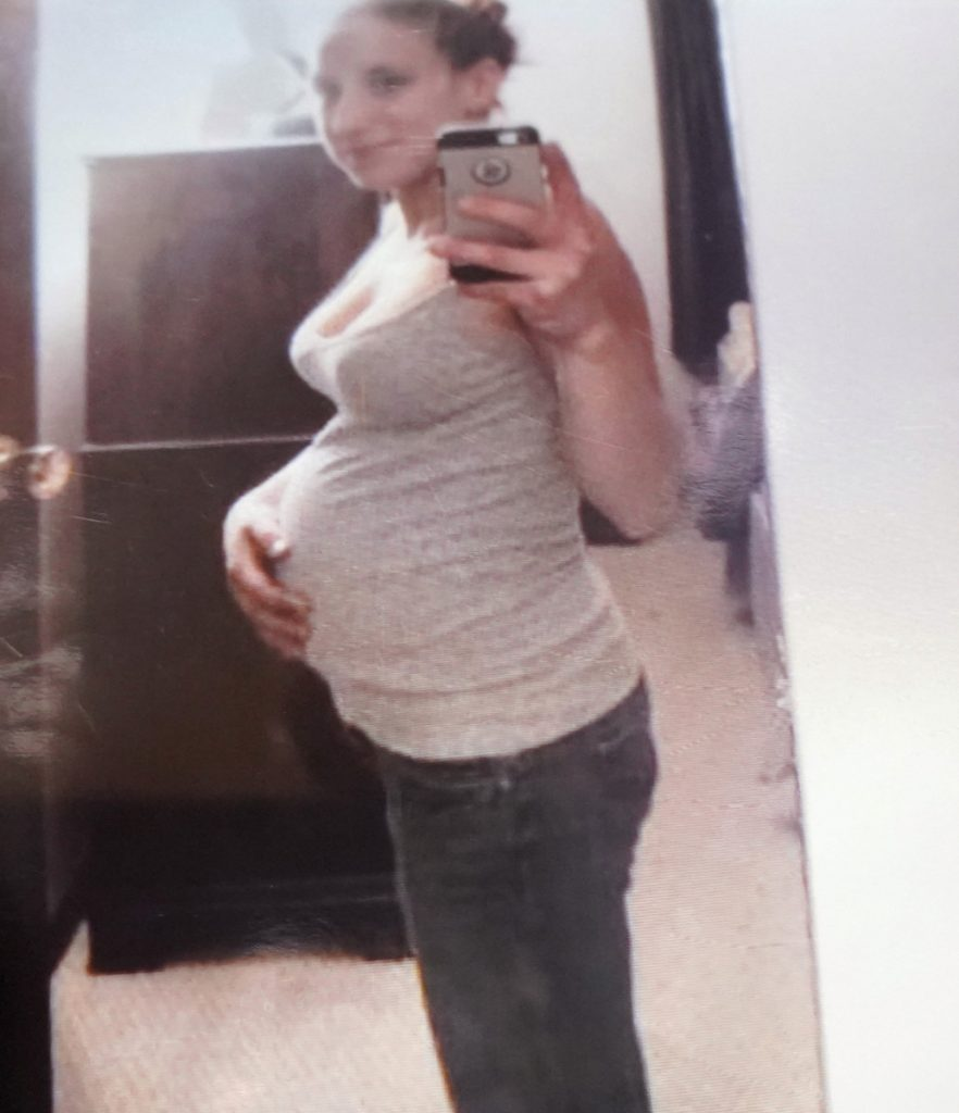 Bonnie Royer, shown in a self-portrait taken a few days before her death, was pregnant when she was shot and killed by David Marble, who was sentenced to life in prison Friday for killing Royer and Eric Williams in 2015.