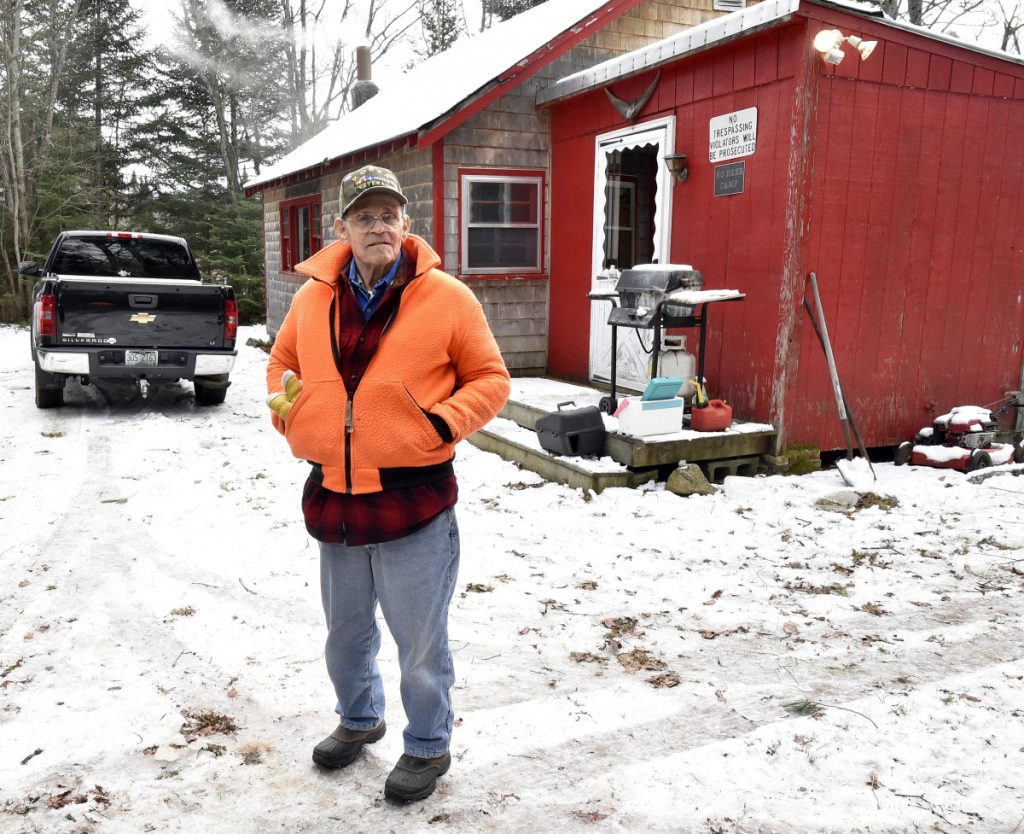 Bob Jones, an uncle to deceased hunter Todd Babula, of New Hampshire, talked Monday about how Babula and his brother Steve faithfully came to their hunting camp during deer season for many years. Game wardens found Babula's body nearby Sunday.