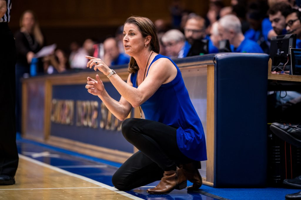 Duke women's basketball coach Joanne McCallie is set to take her squad to Bangor on Thursday to face Maine, a program she coached for eight seasons.