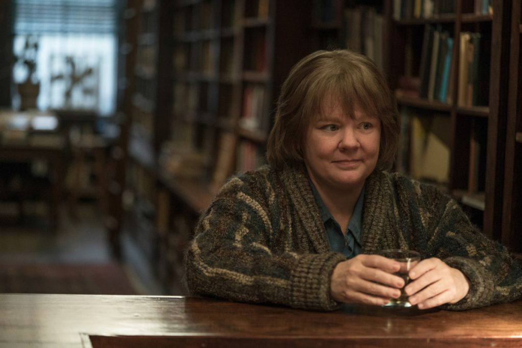 "Melissa McCarthy as Lee Israel in the film ""Can You Ever Forgive Me?"""