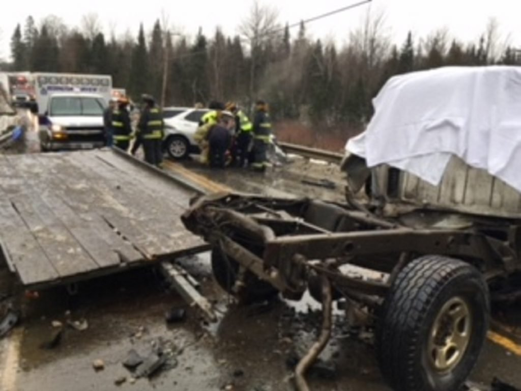 The Somerset County Sheriff's Office, Cornville Fire Department, Madison Fire Department, Maine State Police and Redington-Fairview EMS responded to the scene of a fatal motor vehicle crash on Shadagee Road in Cornville on Sunday. Gregory Griffeth, of Cornville, the driver of a 2000 GMC pickup truck, was pronounced dead at the scene.