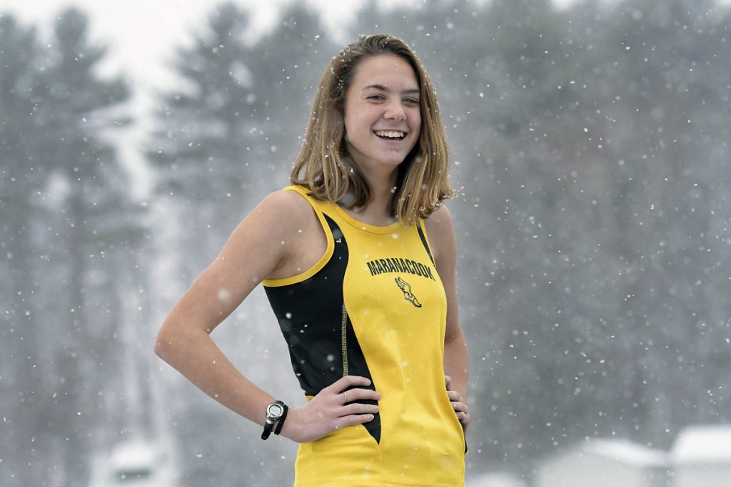 Maranacook junior Molly McGrail is the Kennebec Journal Girls Cross Country Runner of the Year.