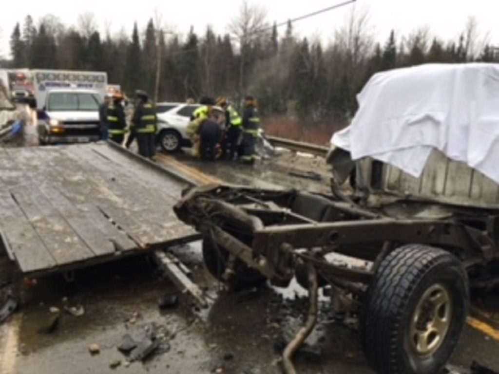 The Somerset County Sheriff's Office, the Cornville Fire Department, the Madison Fire Department, Maine State Police and Redington-Fairview EMS went to the scene of a fatal traffic accident Sunday on Shadagee Road in Cornville. Gregory Griffeth, of Cornville, the driver of a 2000 GMC pickup truck, was pronounced dead at the scene.