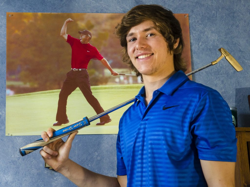 Erskine Academy's Conner Paine is the Kennebec Journal Golfer of the Year.