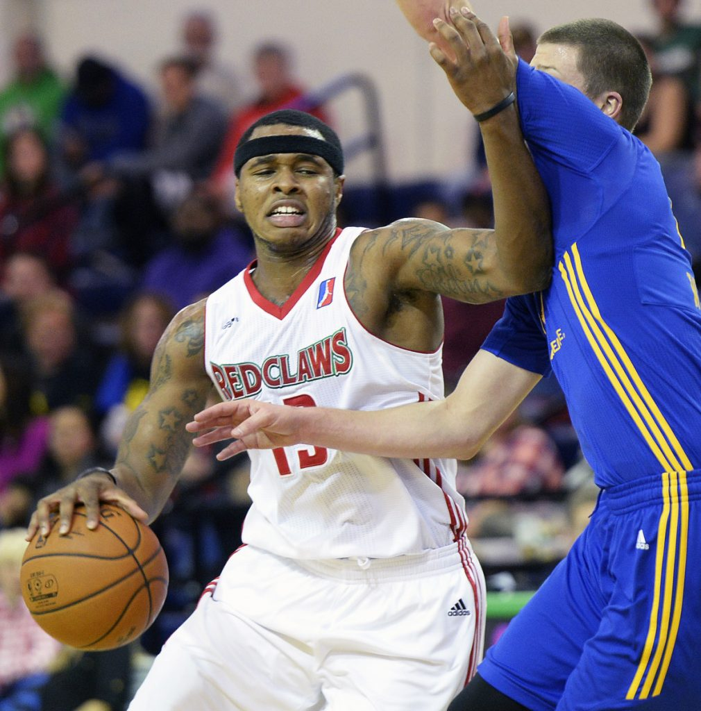 Marcus Georges-Hunt, who played for Maine two years ago, brings NBA experience to a Red Claws team opening its season Friday night.