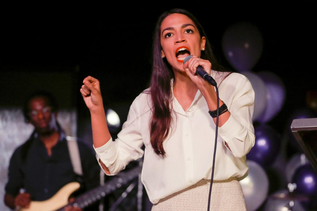 A former Bernie Sanders organizer, Democrat Alexandria Ocasio-Cortez heads to the House of Representatives after defeating her Republican challenger Anthony Pappas for the right to represent New York's 14th district.