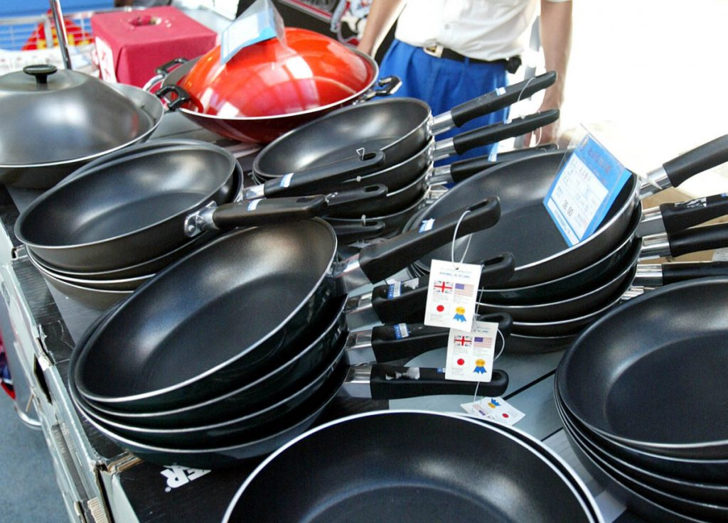 Newer nonstick coatings containing PFAS, used in such items as frying pans, fast-food wrappers and firefighting foam, can cause health problems even in tiny amounts, the EPA says.