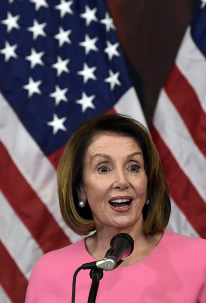 Democrat Nancy Pelosi has been demonized but is also respected.