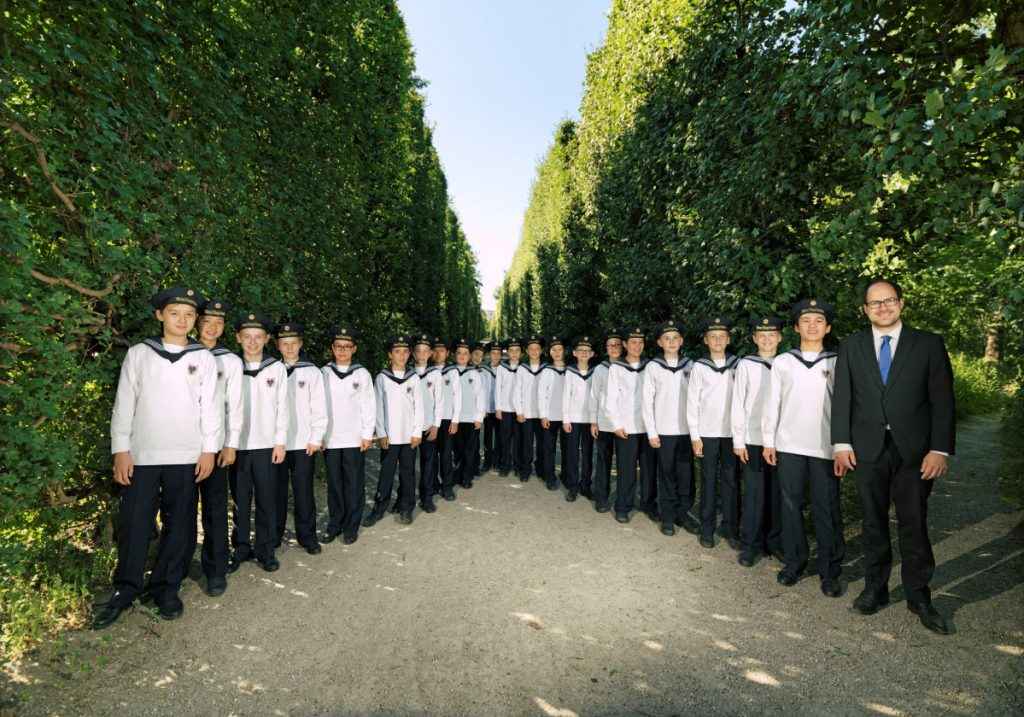 The Vienna Boys Choir, founded in 1498, will be performing Nov. 28 at the Merrill Auditorium in Portland.