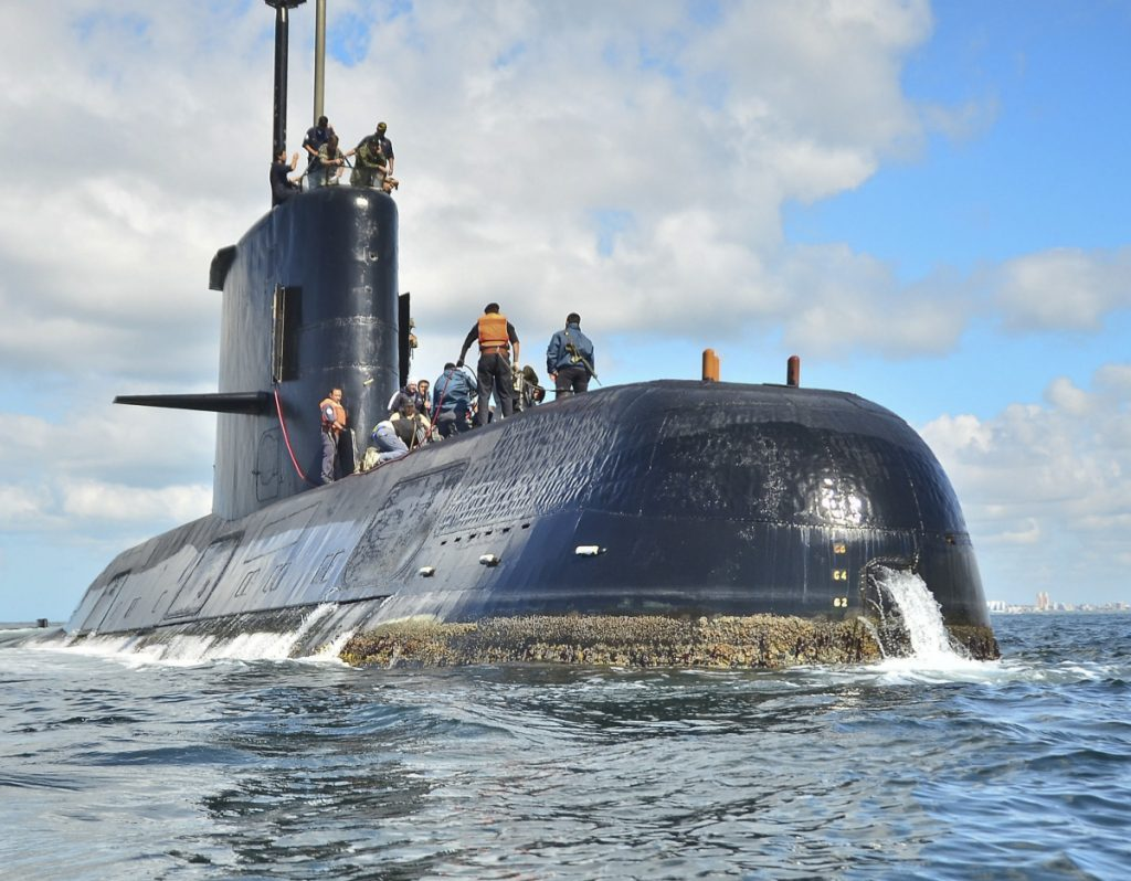 Argentina's navy announced early Saturday that searchers found the missing submarine ARA San Juan deep in the Atlantic a year after it disappeared.