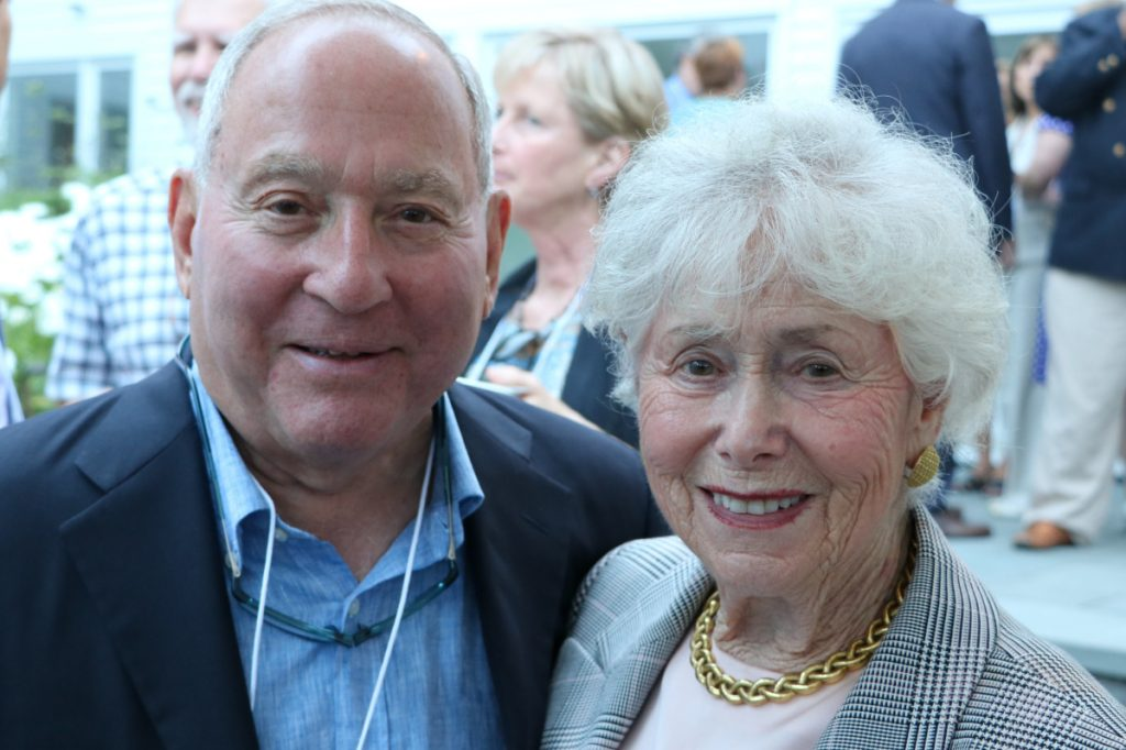 The donation by Peter and Paula Lunder, through the Lunder Foundation, to Maine College of Art is the largest gift the school has received for financial aid.