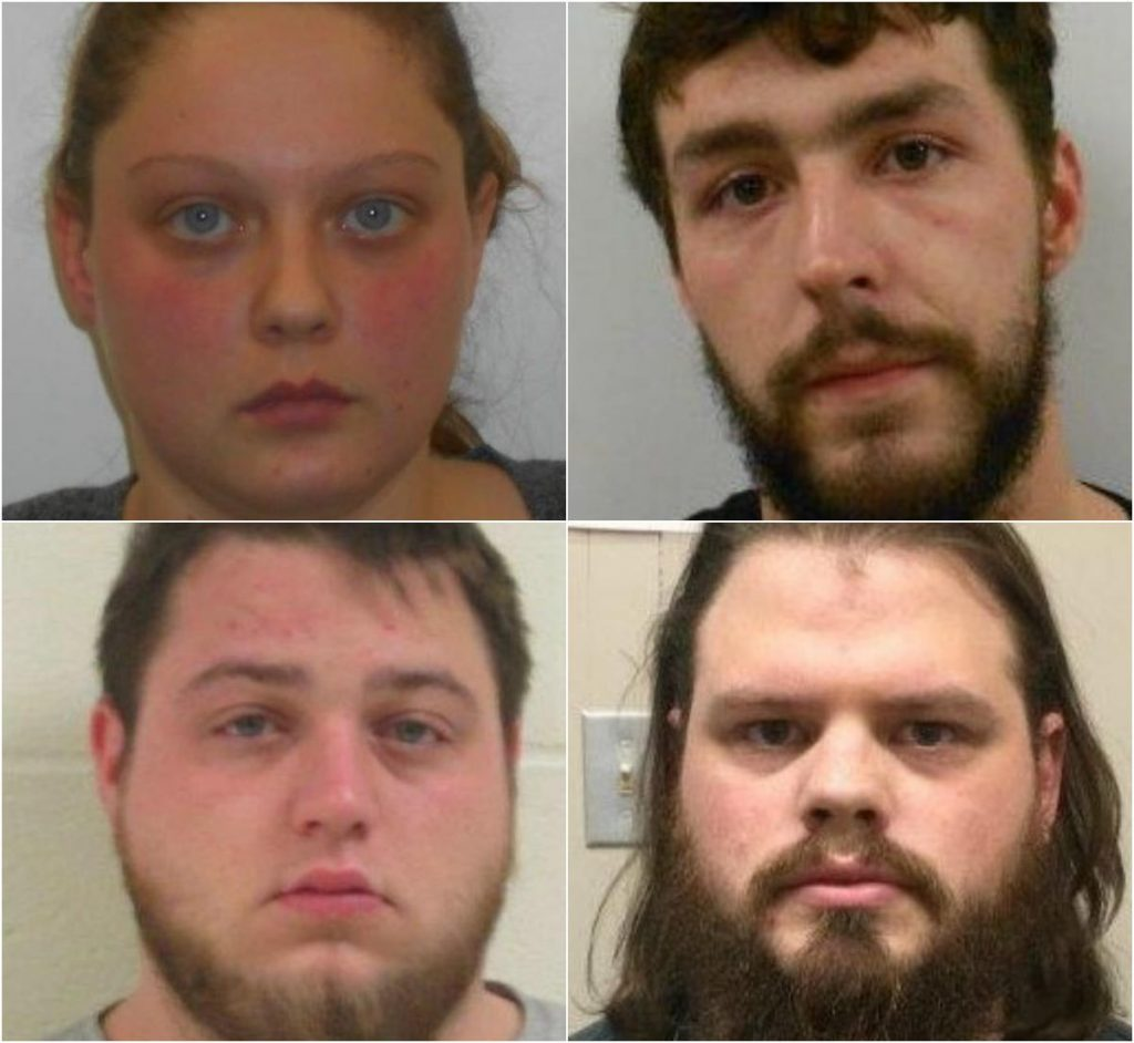 Clockwise  from upper left: Kayla Haley, Taylor Mann, Eric Soletto and Brian Patch