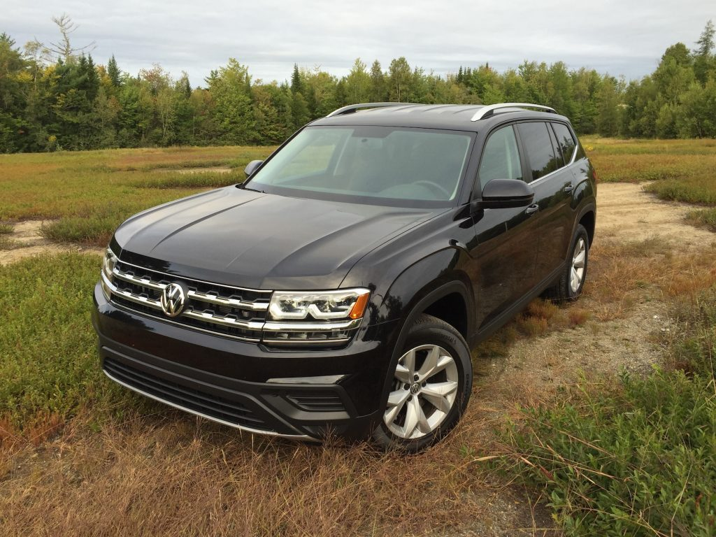Pricing starts at $30,750 for a front-drive S Atlas. (Photo by Tim Plouff)