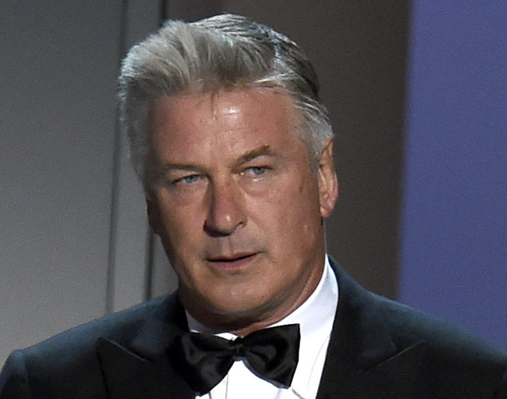 Alec Baldwin is accused of punching a man in the face during a dispute over a parking spot.