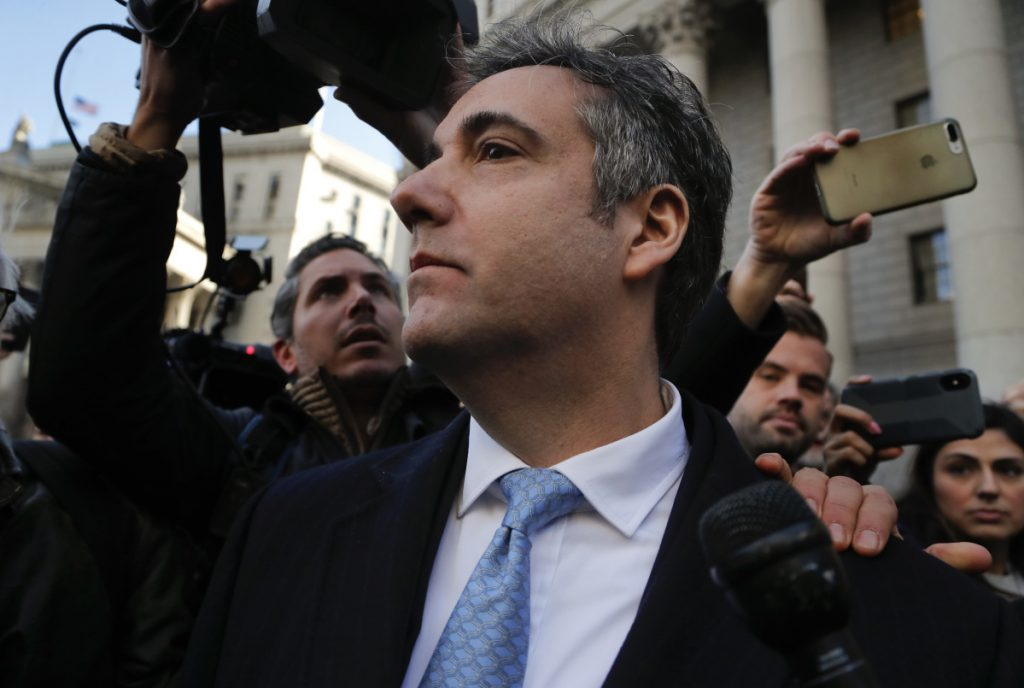 Pleading guilty to lying to Congress was probably not Michael Cohen's plan in 2016.