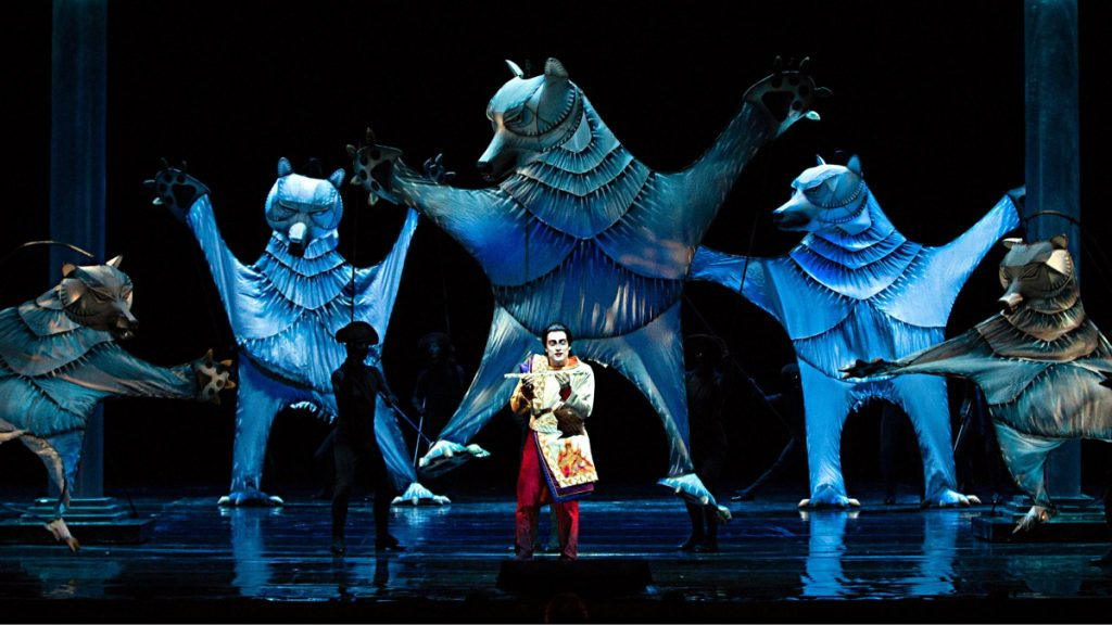 "A scene from The Metropolitan Opera's ""The Magic Flute."" An encore HD broadcast of the performance is set for 12:55 p.m. Sunday, Dec. 9, at the Waterville Opera House, 1 Common St. in Waterville."