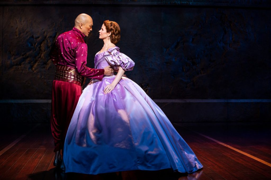"A scene from ""The King and I."""