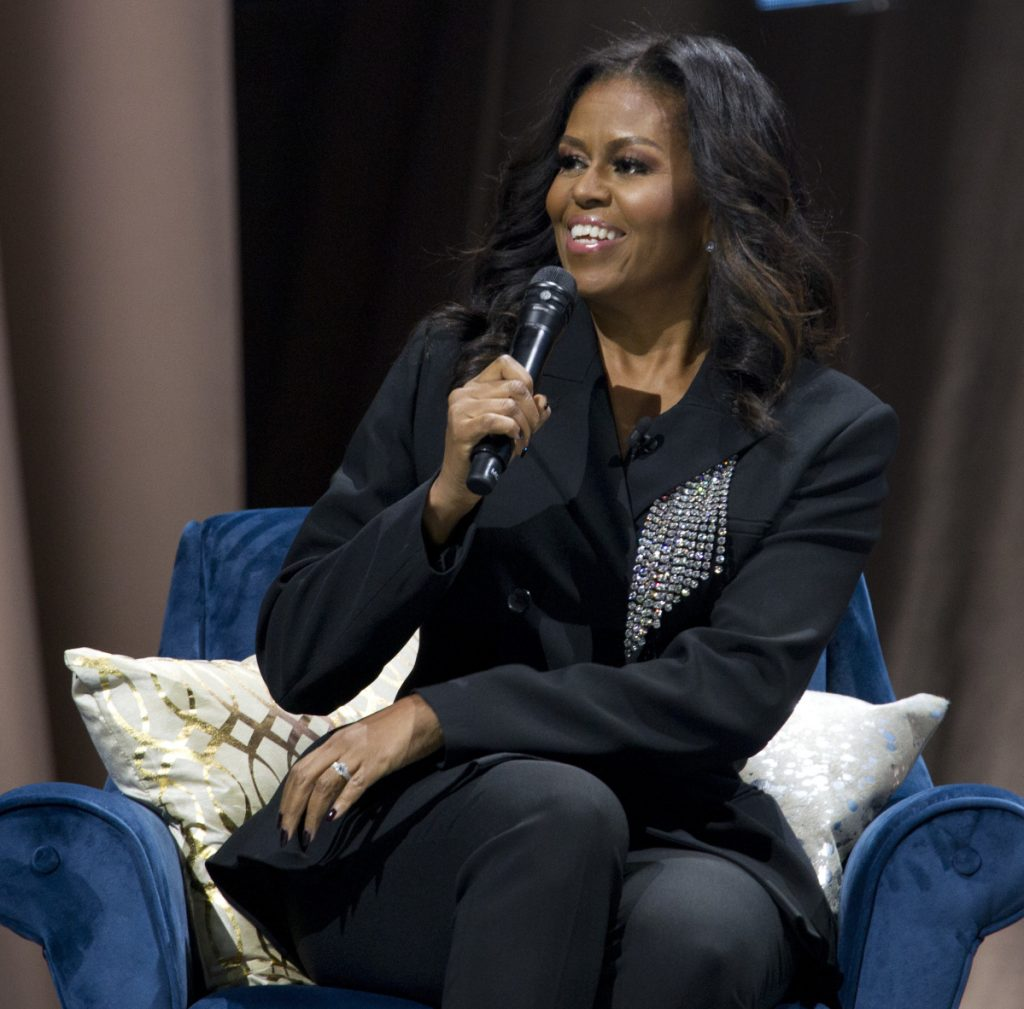 Michelle Obama ends Hillary Clinton's run as most-admired woman