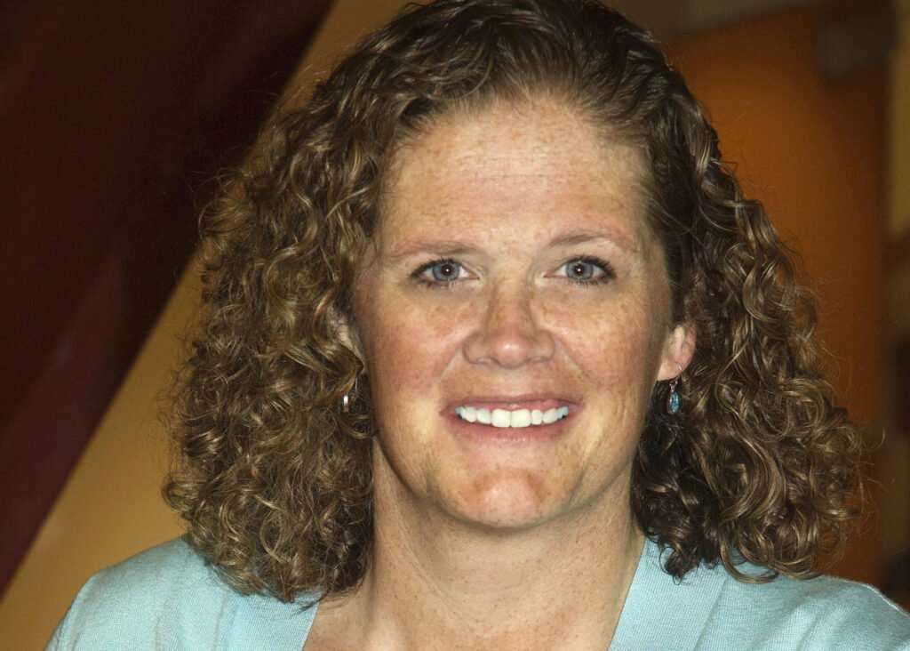 """Kimberlee Bennett, an assistant principal at South Portland High School, has been named the 2019 Assistant Principal of the Year among Maine secondary schools for her """"authentic, student-centered leadership."""""""