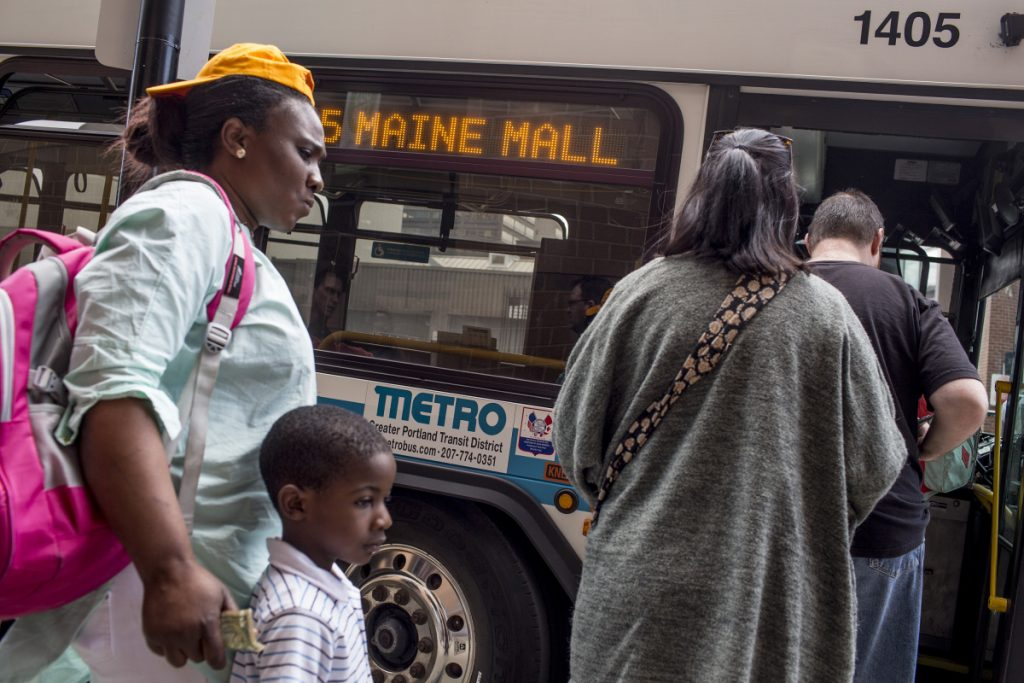 The Metro operates buses in Portland, Westbrook, Gorham and Falmouth and also a commuter shuttle.