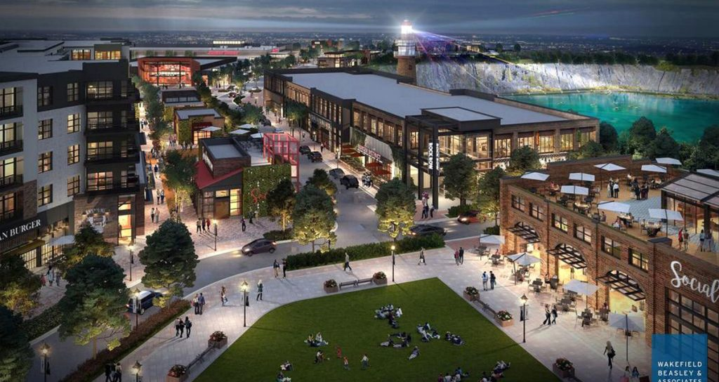 The streets and sidewalks of a mixed-use development in Westbrook would be leased to Waterstone Properties Group under a deal with the Metro bus service.