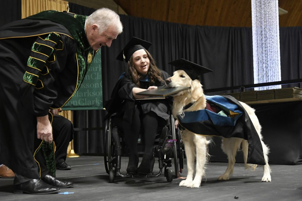 """""""I pushed for him to graduate from Day One,"""" Brittany Hawley says."""