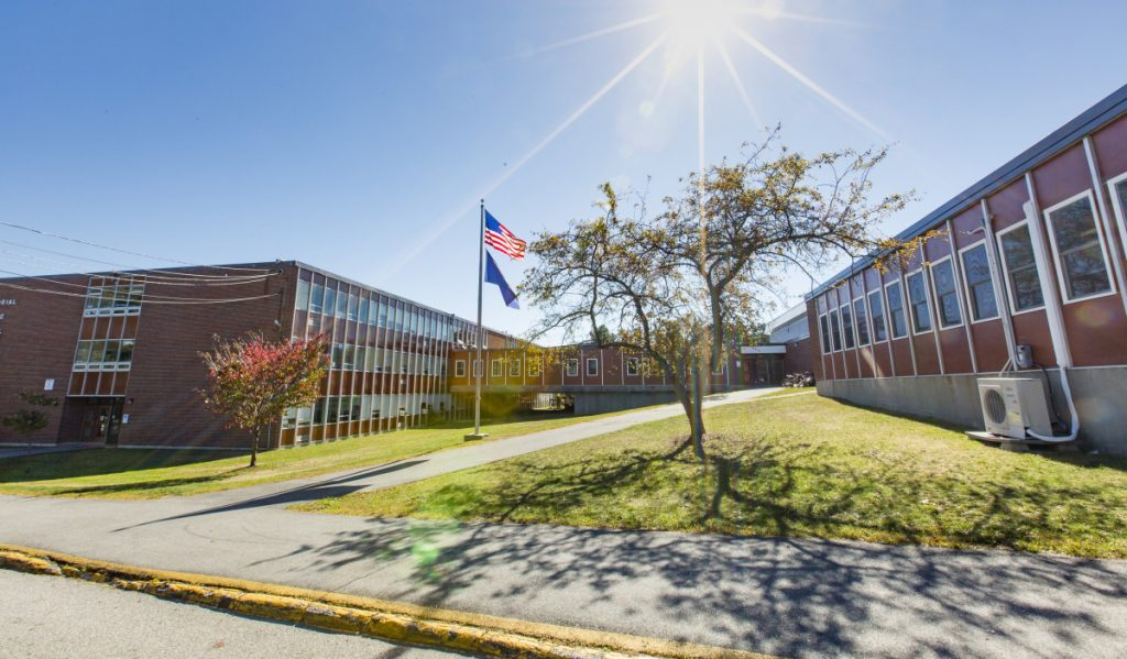 Memorial is one of two aging middle schools in South Portland that would be replaced by a proposed $50 million consolidated middle school planned for the Memorial site, above, at 120 Wescott Road.
