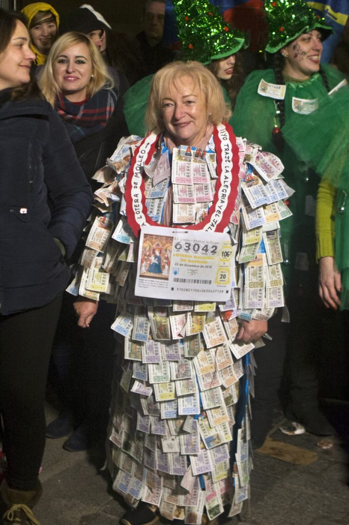 "Spain's Christmas lottery, known as El Gordo, or ""The Fat One,"" dished out $2.7 billion in prize money this year."