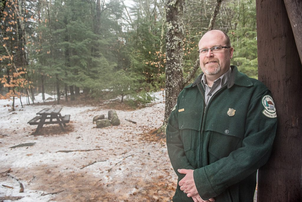 Chris Silsbee, manager of Bradbury Mountain State Park in Pownal, will lead the First Day Hike at the park Jan. 1. It is free and open to the public.