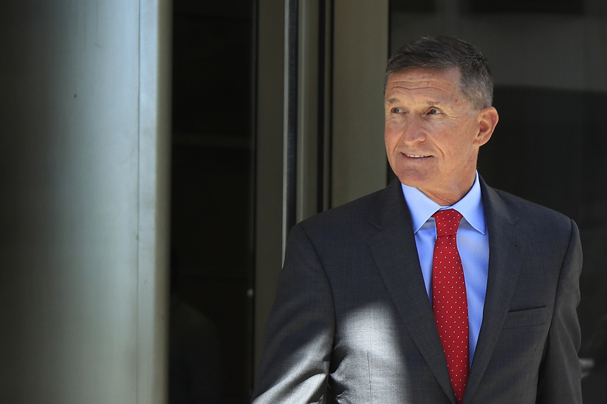 Trump wishes ex-national security advisor 'good luck' as Flynn heads to sentencing