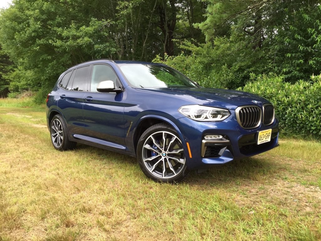 The BMW X3 M40i in Phytonic Blue. (Photo by Tim Plouff)