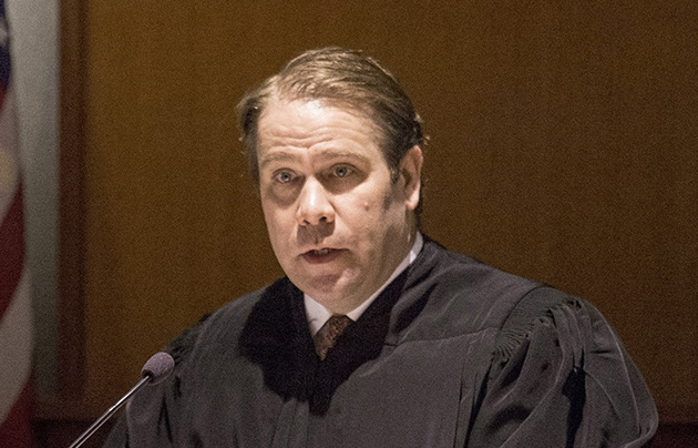 Federal Judge Lance Walker, shown in 2016, says he'll rule soon on U.S. Rep. Bruce Poliquin's challenge to ranked-choice voting.