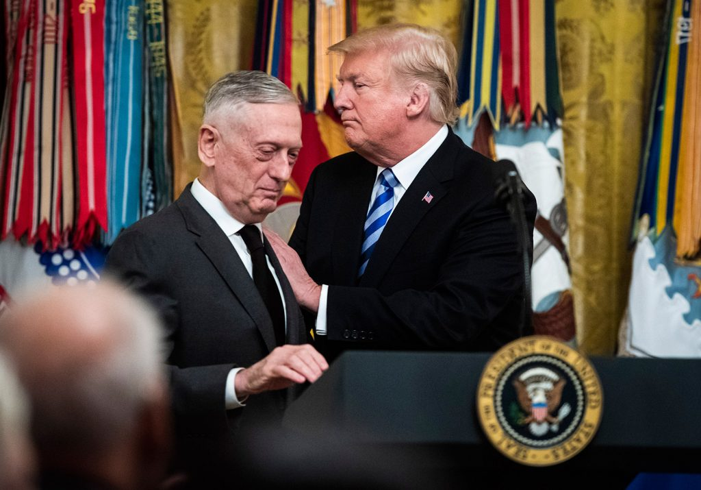 Secretary of Defense Jim Mattis will leave his Cabinet position at the end of February, after disagreements with President Trump including a troop withdrawal from Syria.
