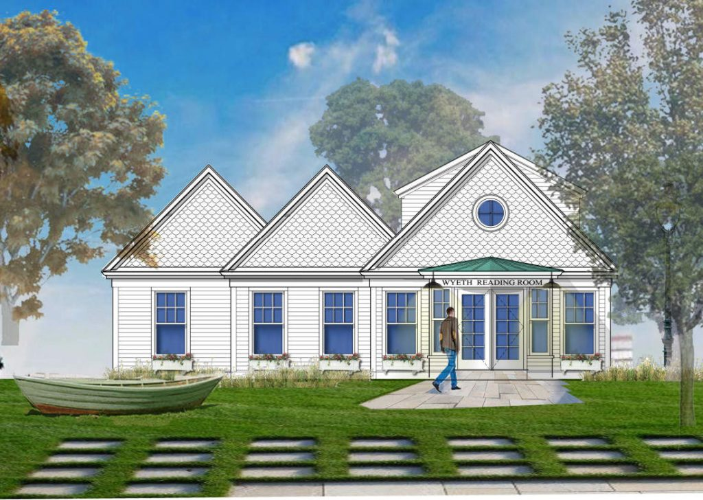The proposed Wyeth Reading Center in St. George.