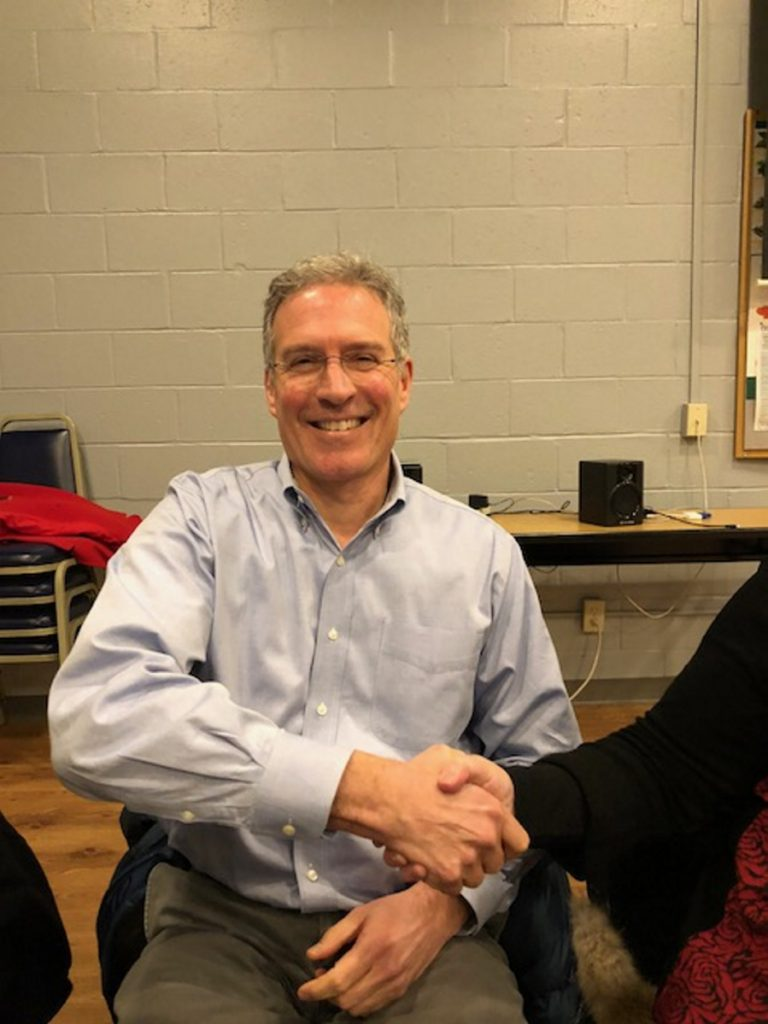 Greg Bazakas was elected Monday to represent Ward 2 on the Waterville Board of Education.