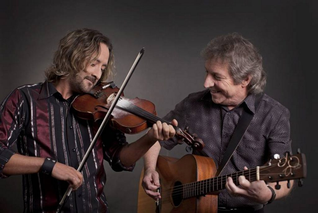 Richard Wood, left, and Gordon Belsher will perform at 7 p.m. Thursday, Jan. 17 at the Old South Church in Farmington.