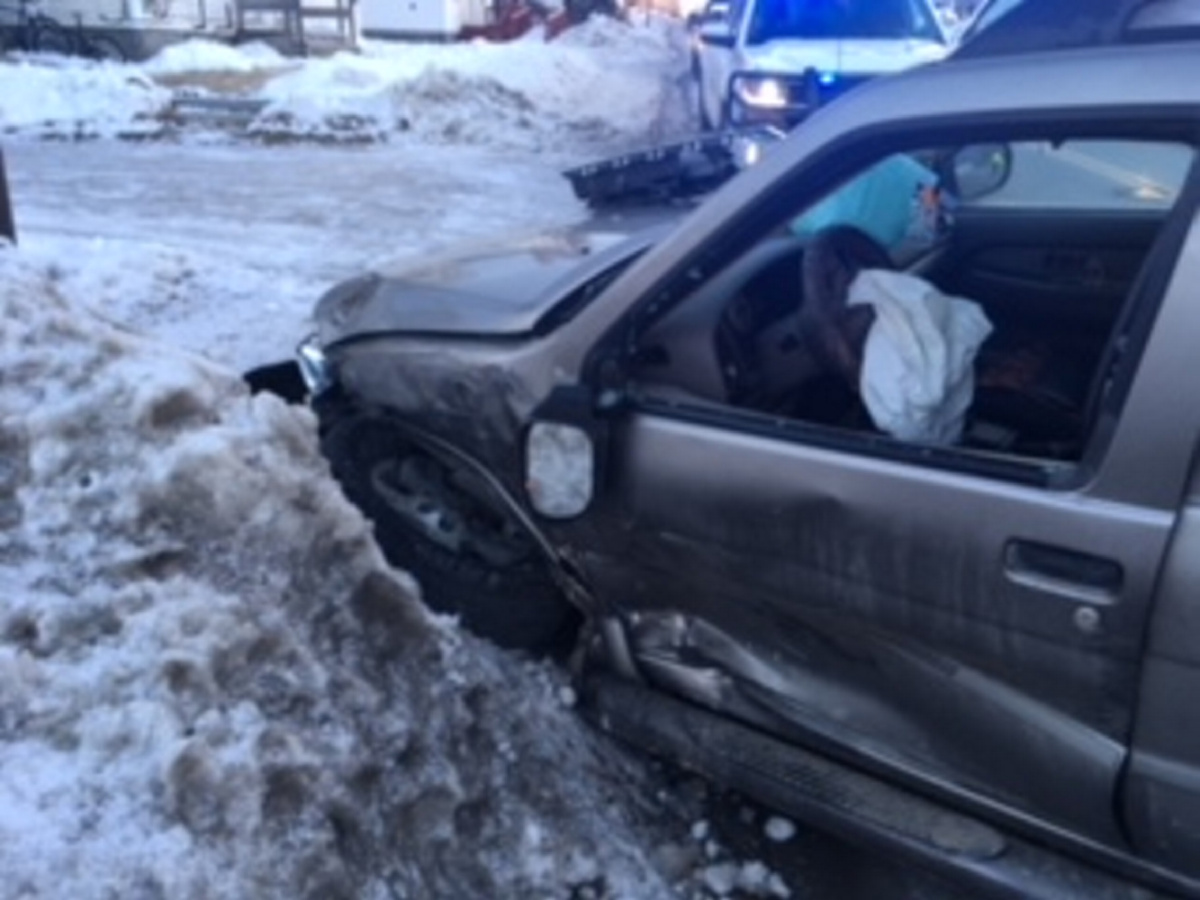 Two-vehicle accident in Canaan sends one person to hospital