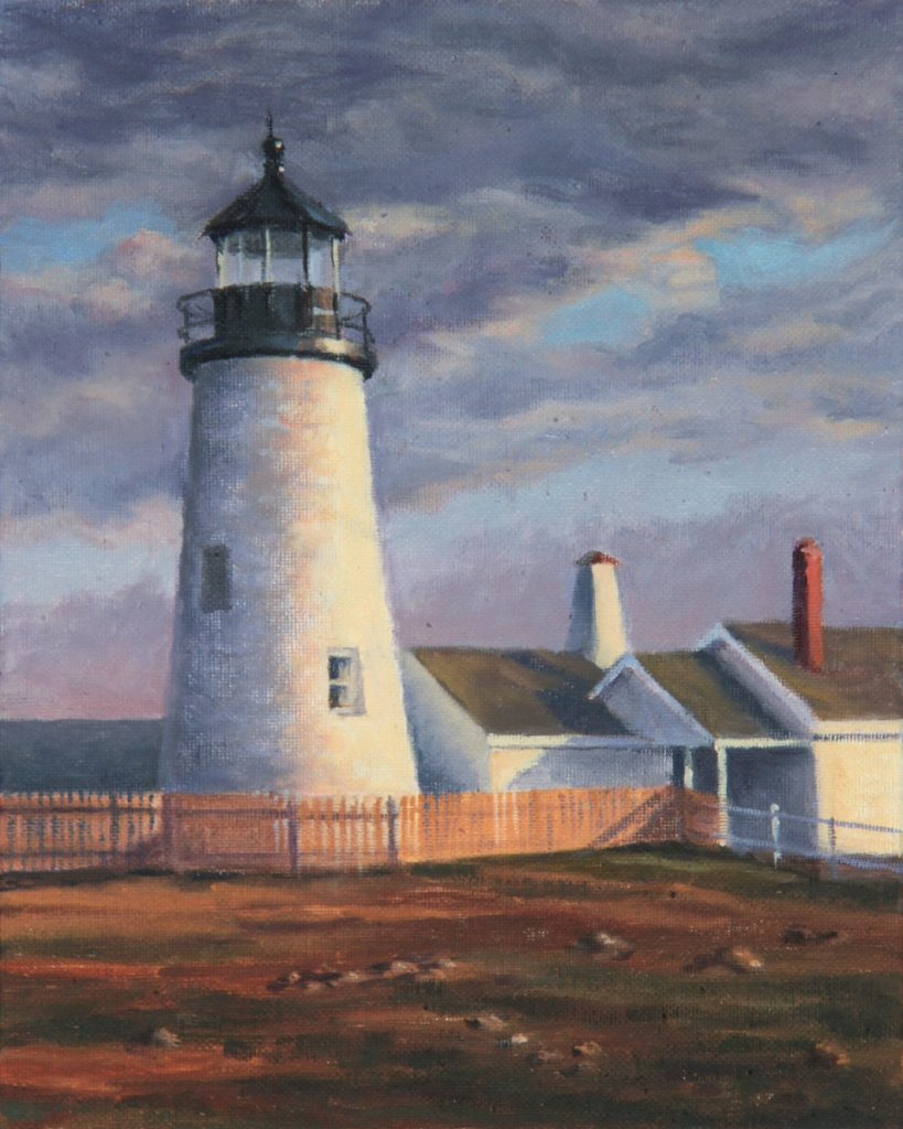 """Pemaquid Light"" by Will Kefauver."