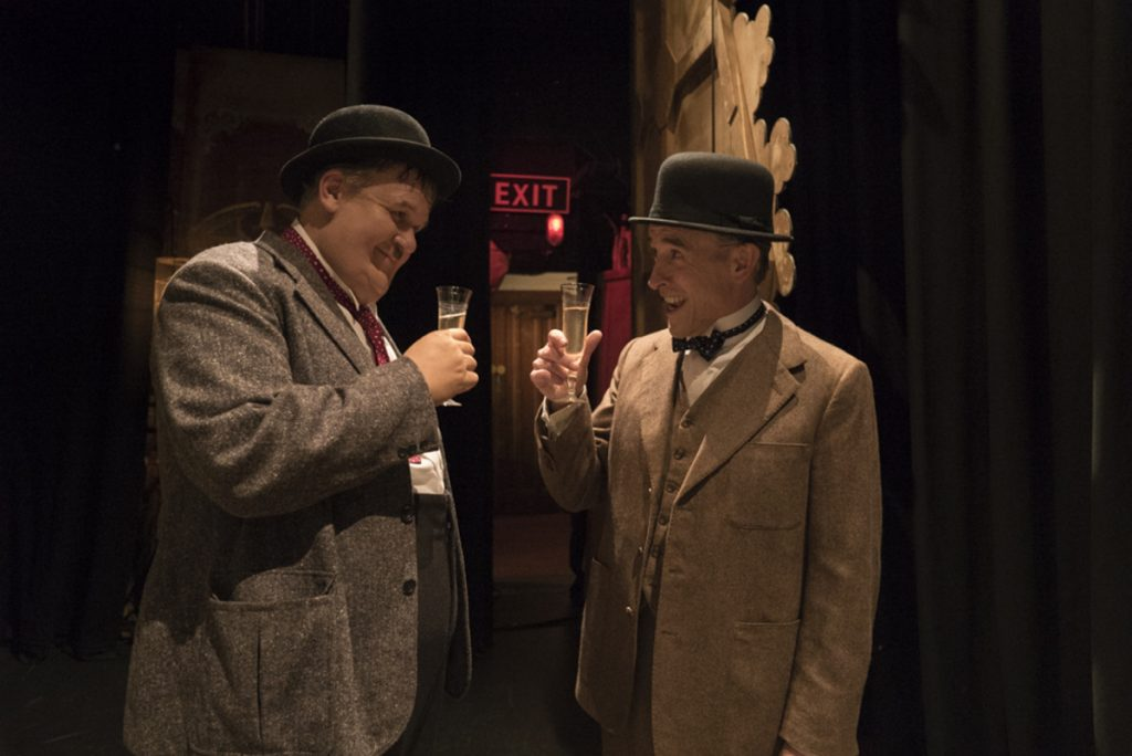 """John C. Reilly, left, and Steve Coogan in a scene from """"Stan & Ollie."""""""